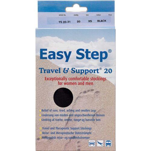 Køb Easy Step knæ travel mix sort 37-39 1 par online hos apotekeren.dk