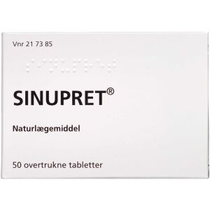 Køb Sinupret tabletter 50 stk. online hos apotekeren.dk