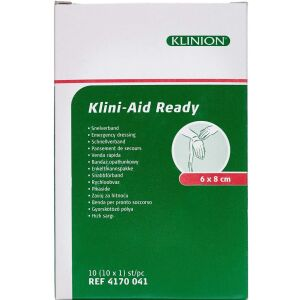 Køb Klinion Førstehjælpskompres 6x8 cm 1 stk. online hos apotekeren.dk