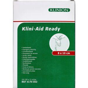 Køb Klinion Førstehjælpskompres 8x10 cm 1 stk. online hos apotekeren.dk