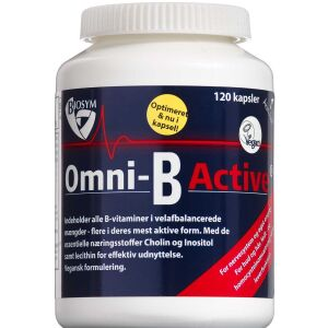 Køb Omni-B Active kapsler 120 stk. online hos apotekeren.dk