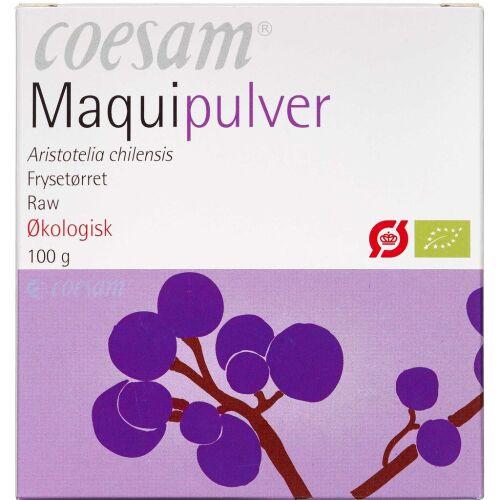 Køb Coesam Maquipulver økologisk 100 g online hos apotekeren.dk