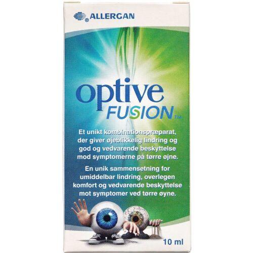 Køb Optive Fusion øjendråber 10 ml online hos apotekeren.dk