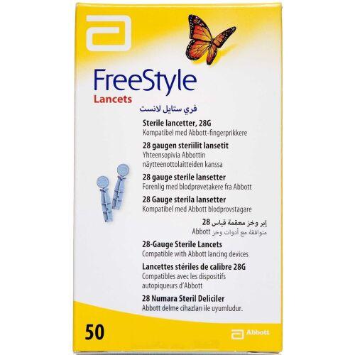 Køb FreeStyle Lancet 50 stk. online hos apotekeren.dk