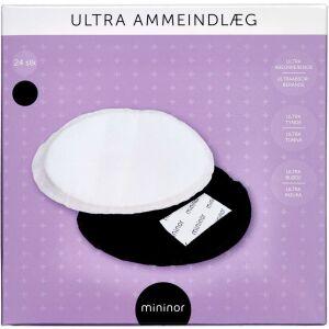 Køb Mininor Ammeindlæg Ultra Sort 24 stk. online hos apotekeren.dk