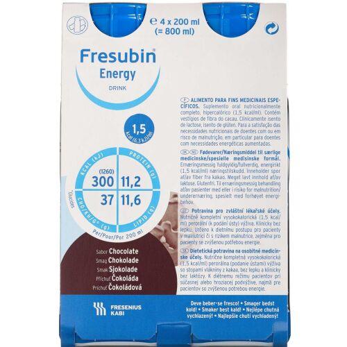 Køb Fresubin® Energy Drink Chokolade 4 x 200 ml online hos apotekeren.dk
