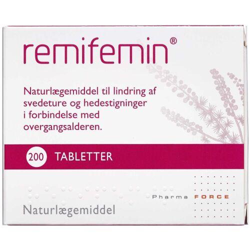 Køb Remifemin Tabletter 200 stk. online hos apotekeren.dk