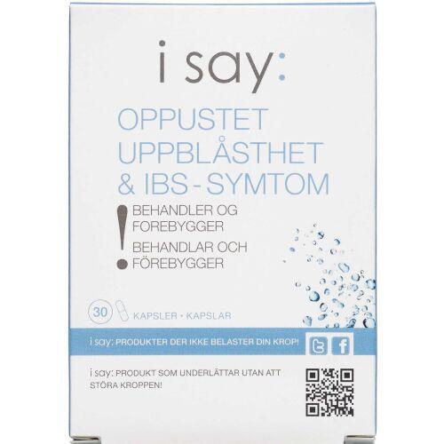 Køb Isay: Oppustet 30 kapsler online hos apotekeren.dk