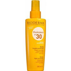 Køb Bioderma Photoderm Spray SPF 30 200 ml online hos apotekeren.dk