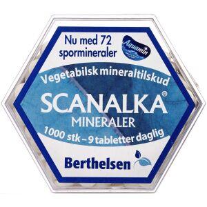 Køb Berthelsen Scanalka Mineral tabletter 1000 stk. online hos apotekeren.dk