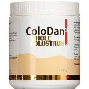 Køb ColoDan Whole Colostrum pulver 250 ml  online hos apotekeren.dk