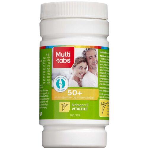 Køb Multi-tabs 50+ 100 stk. online hos apotekeren.dk