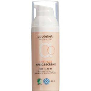 Køb Apotekets Anti-age creme 24 timer U/P 50 ml online hos apotekeren.dk