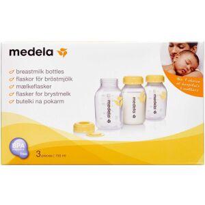 Køb Medela Brystmælksflaske 150 ml 3 pak online hos apotekeren.dk