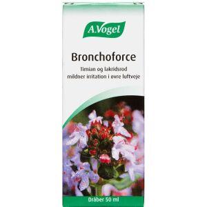 Køb A. Vogel Bronchoforce dråber 50 ml online hos apotekeren.dk