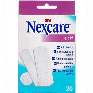 Køb Nexcare Soft Plaster 20 stk. online hos apotekeren.dk
