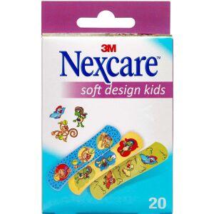 Køb Nexcare Soft Design Kids 20 stk. online hos apotekeren.dk
