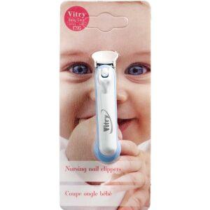 Køb Vitry Baby Negleklipper ass. farver 1 stk. online hos apotekeren.dk