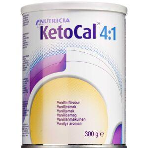 Køb KetoCal 4:1 Vanilje 300 g online hos apotekeren.dk