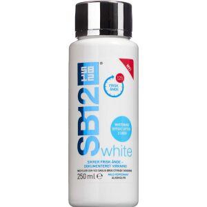 Køb SB12 Mundskyl White 250 ml online hos apotekeren.dk