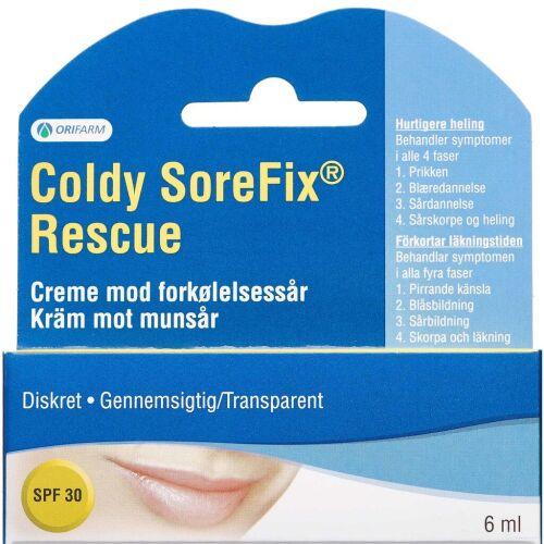 Køb Coldy Sorefix Rescue Creme 6 ml online hos apotekeren.dk