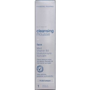 Køb Faaborg Ultimate Cleansing Mousse 150 ml online hos apotekeren.dk