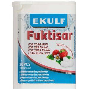 Køb Ekulf Fuktisar Wild Strawberry 30 stk. online hos apotekeren.dk