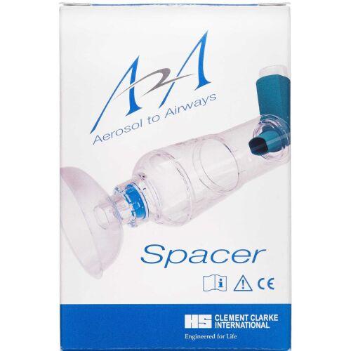 Køb A2A spacer med maske small 1 stk. online hos apotekeren.dk