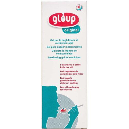 Køb Gloup synkegel m/frugtsmag på tube 150 ml online hos apotekeren.dk