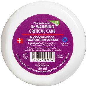 Køb Dr. Warming Critical Care fedtcreme 80 ml online hos apotekeren.dk