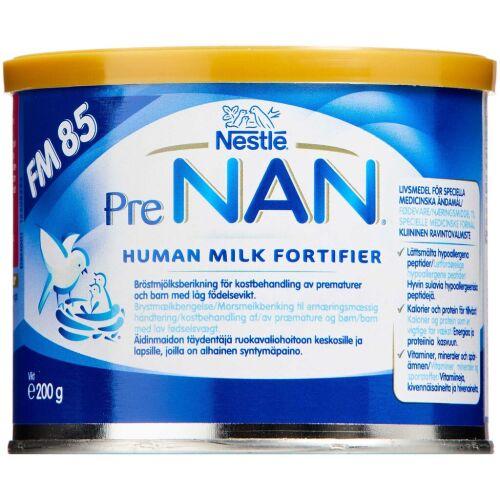 Køb Prenan Human Milk Fortifier FM85 200 g online hos apotekeren.dk