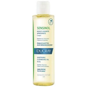Køb Ducray Sensinol Cleansing Oil 200 ml online hos apotekeren.dk