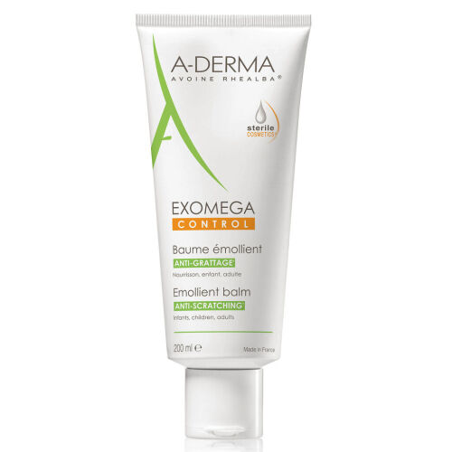 Køb A-Derma Exomega Control balm 200 ml online hos apotekeren.dk