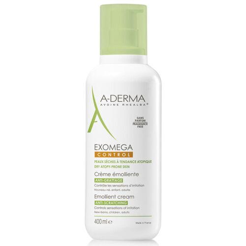 Køb A-Derma Exomega Control cream fugtighedscreme 400 ml online hos apotekeren.dk