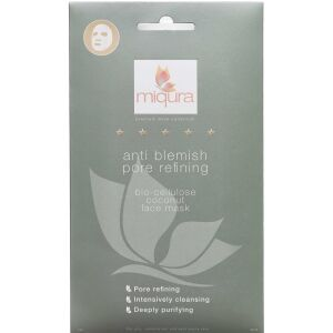 Køb Miqura Anti Blemish Sheet Mask 1 stk. online hos apotekeren.dk