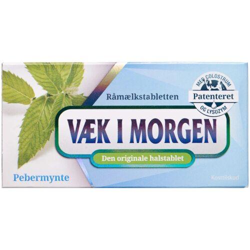 Køb Væk I Morgen Halstablet pebermynte 20 stk. online hos apotekeren.dk