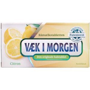 Køb Væk I Morgen Halstablet citron 20 stk. online hos apotekeren.dk