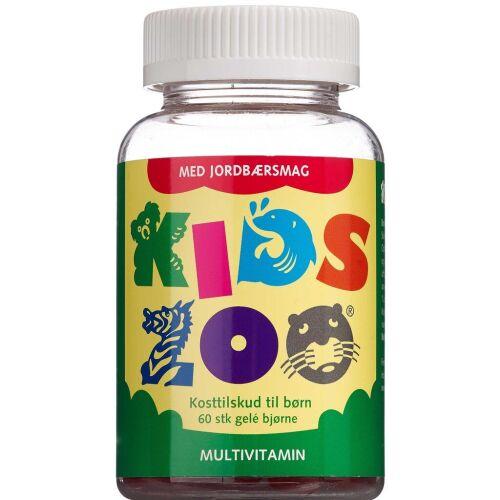 Køb Kids Zoo Multivitamin vitaminbamser 60 stk. online hos apotekeren.dk