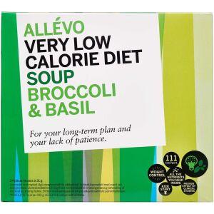 Køb Allevo VLCD Soup Broccoli & Basil 24 breve online hos apotekeren.dk
