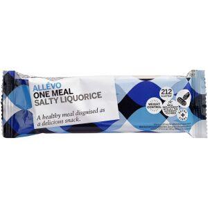 Køb Allevo LCD Bar One meal Salty Liquorice 1 stk. online hos apotekeren.dk