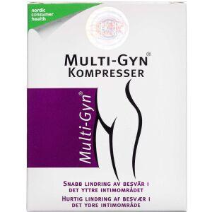 Køb Multi-Gyn Kompresser 12 stk. online hos apotekeren.dk