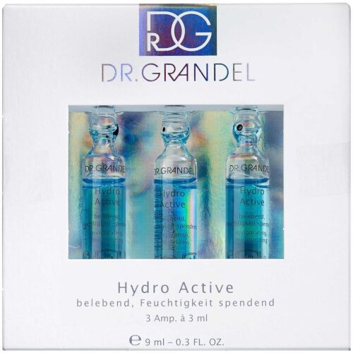 Køb Dr. Grandel Hydro Active Ampul 3 x 3 ml online hos apotekeren.dk