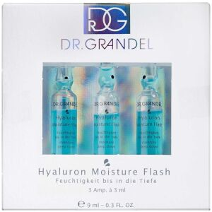 Køb Dr. Grandel Hyaluron Moisture Flash Ampul 3 x 3 ml online hos apotekeren.dk