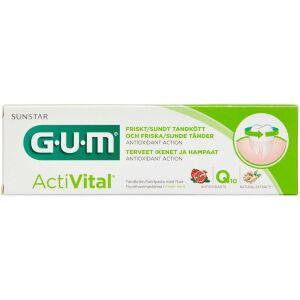 Køb GUM ActiVital Tandpasta 75 ml online hos apotekeren.dk