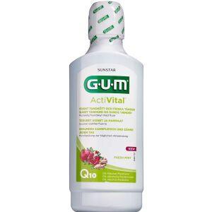 Køb GUM ActiVital Flour Mundskyl 500 ml online hos apotekeren.dk