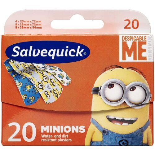 Køb Salvequick Minions 20 stk. online hos apotekeren.dk