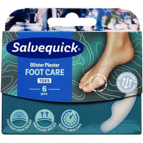 Køb Salvequick Foot Care Small 6 stk. online hos apotekeren.dk