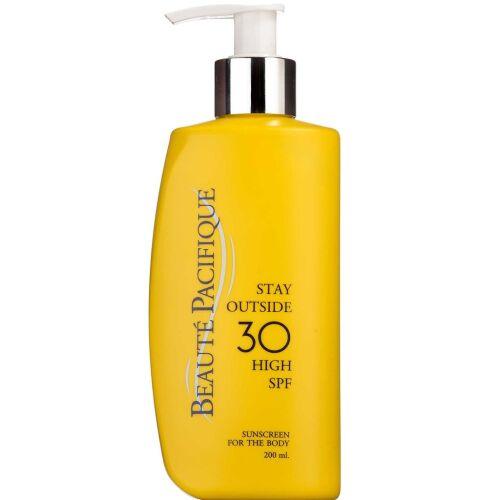 Køb Beaute Pacifigue Stay Outside SPF30 200 ml online hos apotekeren.dk
