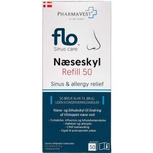 Køb FLO Næseskyl Refill 50 stk. online hos apotekeren.dk