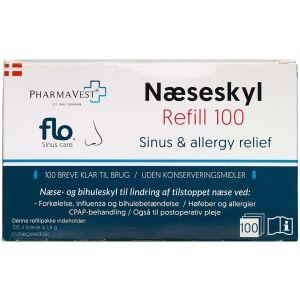 Køb FLO Næseskyl Refill 100 stk. online hos apotekeren.dk